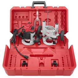 Milwaukee 5615-24 1.75-Horsepower Multi-Base Router Kit Incl