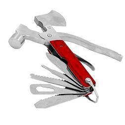Ezyoutdoor 10 in 1 Hammer Outdoor Pocket tools Sport Camp Bi