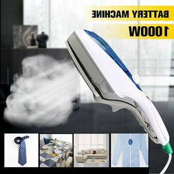 1000W Portable Electric Steam Iron Handheld Fabric Clothes L