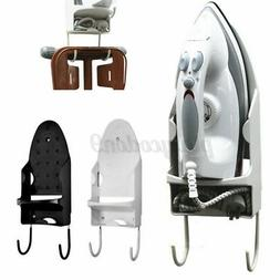 "12"" Ironing Board Hanger Iron Holder Rack Wall Door Holder T"