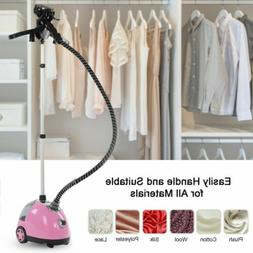 1700W Pro Clothes Steamer Garment Upright Fabric Silk Steam