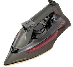 CHI 1700W Professional Steam Iron w/ Ceramic Soleplate & Ove
