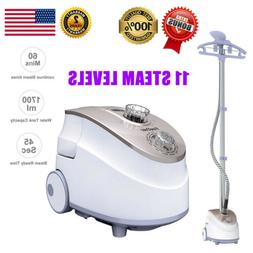 2-In-1 Standing Garment Clothes Fabric Steamer Iron Steam Wr