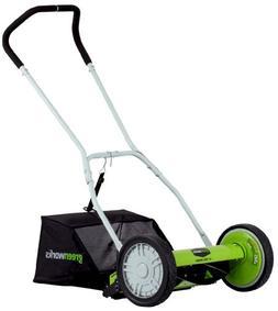 Greenworks 25052 16 in. Push Reel Mower