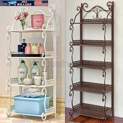 3/5 Layer Bathroom Shower Shelf Kitchen Bath Rack Home Stora