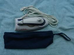 SUNBEAM 3932 Travel Iron/ with travel bag--   Never Used