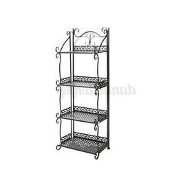 4 Layer Iron Kitchen Bathroom Organizer Storage Holder Rack