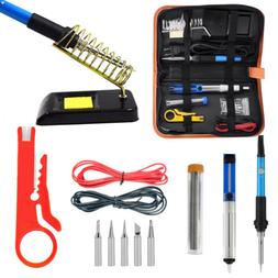 60W 110V Temperature Control Electric Welding Soldering Iron