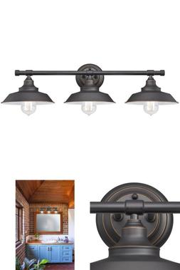 Westinghouse 63434 Iron Hill 3-Light Indoor Wall Fixture, Oi