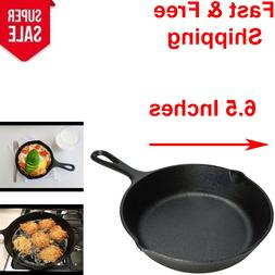 8 Inch Nonstick Pan Cast Iron Skillet Frying Oven Cooking Pr