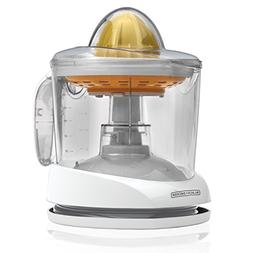 BLACK+DECKER  34oz Citrus Juicer, White, CJ625