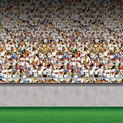 Beistle Lower Deck Stadium Backdrop, 4-Feet by 30-Feet