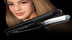 "Braun ST510 1"" Slim Flat Iron 110-220 Volt Ceramic Hair Stra"