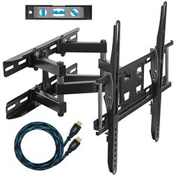 Cheetah Mounts APDAM3B Dual Articulating Arm TV Wall Mount B