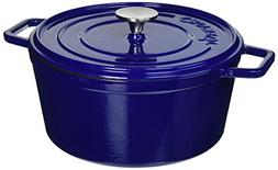 Crock-Pot 108072.02 Elmington Round Cast Iron Dutch Oven, 5