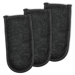 "DII Cotton Terry Pan Handle Sleeve, 6x3"" Set of 3, Heat Resi"