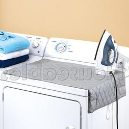 Houseables Ironing Blanket, Magnetic Mat Laundry Pad, 48x85c