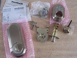 Kwikset - SmartCode 910 Single Cylinder Satin Nickel Electro