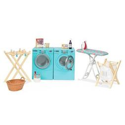 Our Generation Dolls Tumble and Spin Laundry Set for Dolls,
