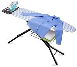 Quad-Leg with Iron Rest Ironing Board