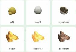 ⚡New Horizons⚡600*Iron, Stone, Clay, Hardwood, Wood, Sof