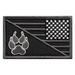 ACU USA American Flag K-9 Police Dog Handler Subdued Morale