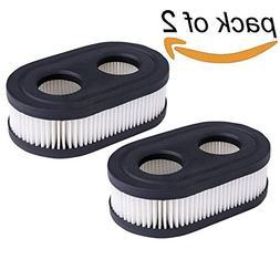 HEYZLASS 2Pack 593260 798452 Air Filter Cartridge, for Brigg