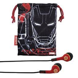 avengers iron noise isolating earphones