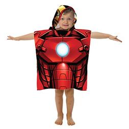 Marvel Avengers Ironman Hooded Bath/Beach Poncho Towel