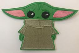 Baby Yoda Embroidered Patch Sew/Iron On New~USA Seller~