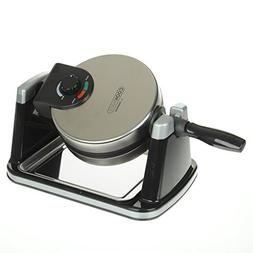 Cookmate Belgian Waffle Maker, Brushed Stainless Steel, 180