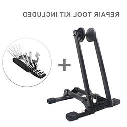 Sports Bike Bicycle Storage Stand Bike Floor Parking Rack Fi