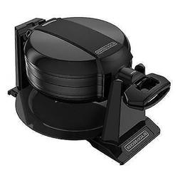 Black & Decker Rotating Waffle Maker, Black