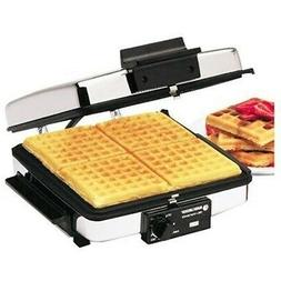 Black & Decker G48TD 3-in-1 Waffle Maker & Indoor Grill/Grid