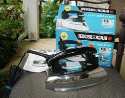 BLACK + DECKER THE CLASSIC IRON F67E NEW IN OPENED BOX