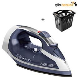 Toucan City BLACK+DECKER Xpress Steam Iron ICR16X and Laundr