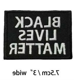 Black Lives Matter BLM 2020 USA  Iron on Patch Collectible C