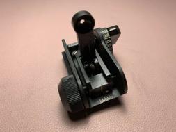 Brand New!! MaTech 0GU83 Back Up Iron Sights BUIS Rear Sight