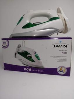 Brand New In Box, Rival Cord Wrap Steam IRON Model ES2325R 1