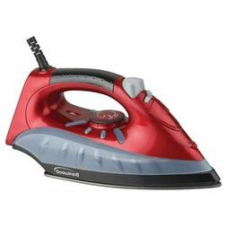 Brentwood Non-Stick Steam Iron - Red