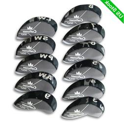 Camo Neoprene Golf Iron Head Covers Headcovers For Mizuno Ca
