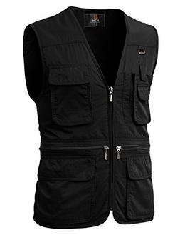 H2H Men's Casual Work Utility Hunting Travels Sports Vest wi