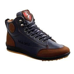 Clearance Sale! Teresamoon Men's Shoes Leather Boots Sports