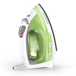 Compact Easy Steam Iron Anti-Drip Nonstick Surface Ergonomic