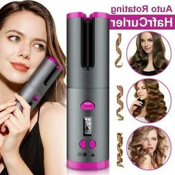Cordless Automatic Rotating Hair Curler Hair Waver Curling I