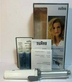 """Braun Curl N Go Cordless Curling Iron 3/4"""" With Barrel Energ"""