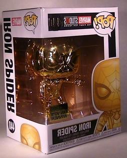 *DAMAGED BOX* Iron Spider Gold Chrome Funko Pop 440