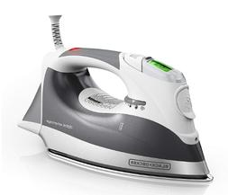 Black & Decker Digital Advantage Steam Iron - Grey - Brand N