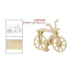 Dcolor DIY Assemble Bicycle Model 3D Wooden Construction Kit