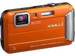 Panasonic DMC-TS25 Waterproof Digital Camera with 2.7-Inch L